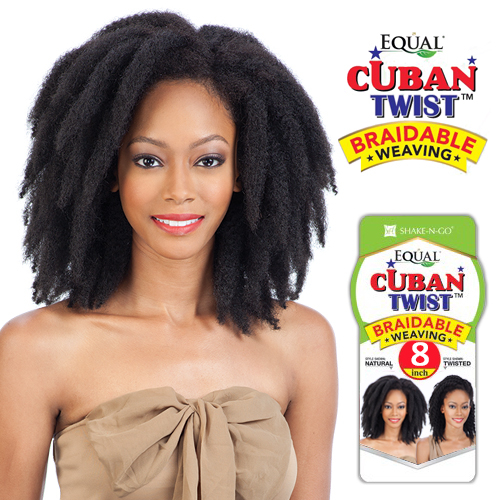 FreeTress Equal Synthetic Hair Weave Cuban Twist Weave - SamsBeauty