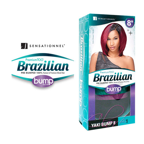 Swell Sensationnel Human Hair Blend Weave Premium Too Brazilian Bump Short Hairstyles Gunalazisus