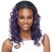 Outre Synthetic Hair Half Wig Quick Weave Verona