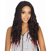 Royal Sis Synthetic Lace Front Wig Afro Lace Braid Jerry