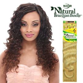 Janet Collection Synthetic Hair Weave Natural Brazilian Bundle Elegance Wave 6pcs