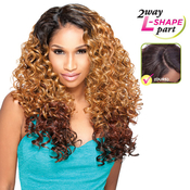 Sensationnel Synthetic Lace Front Wig Empress Edge L Part Alexis
