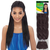 Janet Collection 100 Kanekalon Braids 2X Natural Perm Yaky Braid
