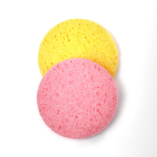 Round Shape Compressed Cellulose Facial Cleansing Sponge