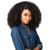 Sensationnel Synthetic Lace Front Wig Empress Edge Curls Kinks AMP; Co The Show Stopper