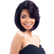 Model Model Human Hair Blend Lace Front Wig Artist 211