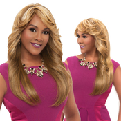 Vivica Fox Synthetic Hair Wig Pure Stretch Cap Trisha