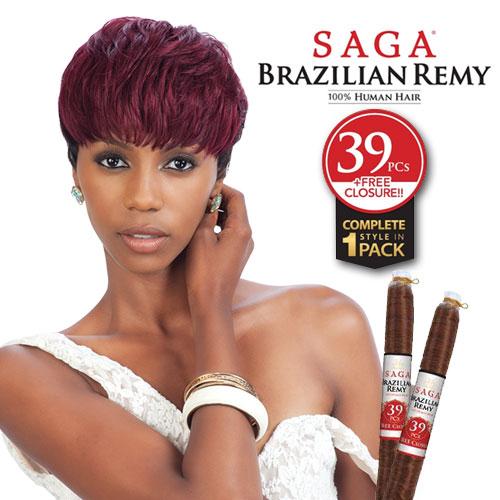 Brazilian Remy Blowout Saga Brazilian Remy 39pcs