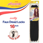 Amour Synthetic Kanekalon Crochet Braids Natty Faux Dread Locks 16