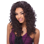 Janet Collection Human Hair Blend Braids Encore Ripple Deep Bulk 18