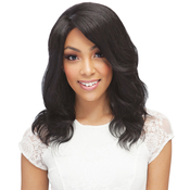 Janet Collection Remy Human Hair Lace Front Wig Extremly ComfortableAMP;Light Sabella
