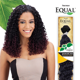 Freetress equal synthetic hair weave jamaican bundle wave samsbeauty hair color shown de530 samsbeauty pmusecretfo Image collections