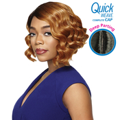 Outre Synthetic Hair Full Cap Quick Weave Complete Cap Deep Part Nadi