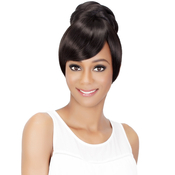 Vivica Fox Synthetic Hair Bun Two In One Bang AMP; Pony BPBSheena
