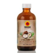 TROPIC ISLE LIVING Coconut Black Castor Oil Hair AMP; Skin Therapy 4oz