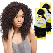 Outre Simply NonProcessed Brazilian Human Hair Weave Natural Kinky Curl