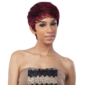 Saga Remy Human Hair Wig Mint Cream