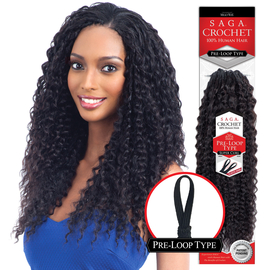 Saga human hair crochet braids pre loop type super curl samsbeauty saga human hair crochet braids pre loop type super curl urmus Image collections