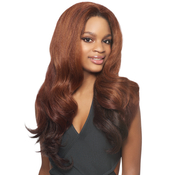 Outre Synthetic Hair Half Wig Quick Weave Batik Dominican Blow Out Relaxed Bundle Hair