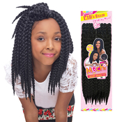 Zumba Crochet Hair : Harlem125 Synthetic Hair Crochet Braids Mochi Durban Twist 10 ...