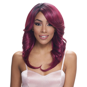 Janet Collection Human Hair Blend Wig Brazilian Scent Lace Samantha