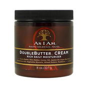 AS I AM DoubleButter Cream Rich Daily Moisturizer 8oz
