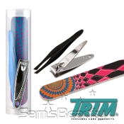 Trim Nail Care Set Nail Clipper AMP; Nail File AMP; Tweezers