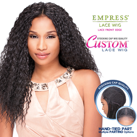 Surprising Sensationnel Synthetic Lace Front Wig Empress Edge Custom Lace Wet Short Hairstyles Gunalazisus