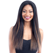 Milky Way Human Hair Blend Lace Front Wig Harmony 114
