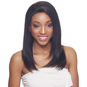 Janet Collection Remy Human Hair Lace Front Wig Extremly ComfortableAMP;Light Adela