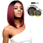 Studio Cut By Pros Synthetic Hair Wig Deep Lace Center Part Chic Bob