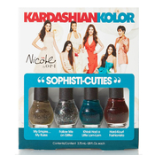 Nicole by OPI Kardashian Kolor SophistiCuties Mini Nail Polish Set