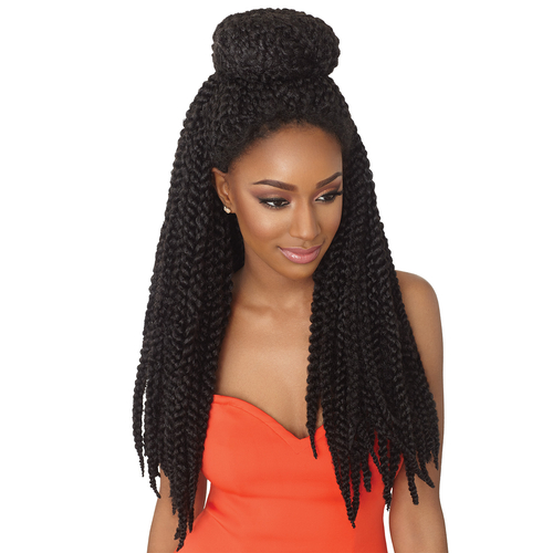 Crochet Braids Using Xpression Hair : Outre Synthetic Hair Crochet Braids X-Pression 3D Braid 24 ...