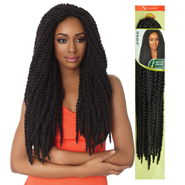 Crochet Braids Outre : Outre Synthetic Hair Crochet Braids X-Pression 3D Braid 24 ...
