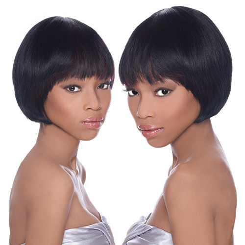 Outre human hair wig duby wig perfect bob samsbeauty hair color shown 1 pmusecretfo Image collections