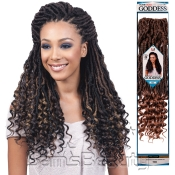 Bobbi Boss Synthetic Hair Crochet Braids African Roots Braid Collection Nu Locs Goddess 20