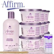 Affirm Conditioning Relaxer System Sensitive Scalp Creme Relaxer 9 Pk