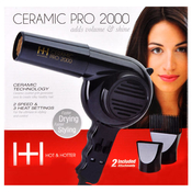 HOT AMP; HOTTER Ceramic Pro2000 Dryer with Extra Piks