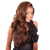 APLUS Ozone Synthetic Lace Front Wig 008
