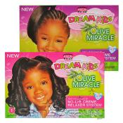 African Pride Dream Kids NoLye Creme Relaxer System