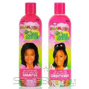 African Pride Dream Kids Olive Miracle Shampoo AMP; Conditioner 12oz