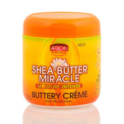 African Pride Shea Butter Miracle Buttery Creme 6oz