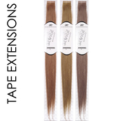 Aemilie Remy Human Hair Weave Tape Extensions 18 10pcs