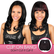 Anytime Synthetic Hair ClipOn Bang S007