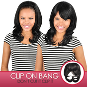 Anytime Synthetic Hair ClipOn Crown Bang S009