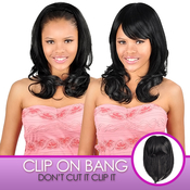 Anytime Synthetic Hair ClipOn Long Crown Bang S011