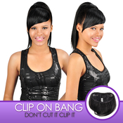 Anytime Synthetic Hair ClipOn Unbalance Bang S005