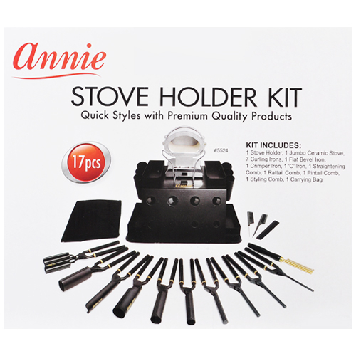 Annie Stove Holder Kit 17pcs Samsbeauty