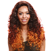 Bobbi Boss Synthetic Lace Front Wig MLF42 Cherry