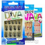 Broadway Fashion Diva 24 Nails in 12 Sizes
